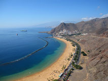 Tenerife coast Royalty Free Stock Photo