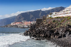 Tenerife coast Royalty Free Stock Photos