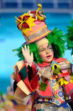 TENERIFE, EL 23 DE ENERO: Caracteres y grupos en el carnaval Imágenes de archivo libres de regalías