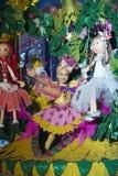 TENERIFE, EL 24 DE ENERO: Caracteres y grupos en el carnaval Fotos de archivo libres de regalías