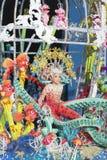 TENERIFE, EL 24 DE ENERO: Caracteres y grupos en el carnaval Imágenes de archivo libres de regalías