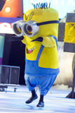 TENERIFE, EL 20 DE ENERO: Grupos del carnaval y caracteres vestidos Fotografía de archivo libre de regalías