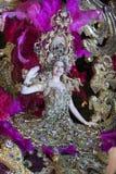 TENERIFE, EL 25 DE FEBRERO: Caracteres y grupos en el carnaval Imágenes de archivo libres de regalías