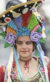 TENERIFE, EL 28 DE FEBRERO: Caracteres y grupos en el carnaval Fotos de archivo