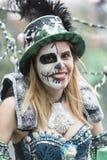 TENERIFE, EL 28 DE FEBRERO: Caracteres y grupos en el carnaval Imagenes de archivo