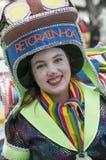 TENERIFE, EL 28 DE FEBRERO: Caracteres y grupos en el carnaval Fotografía de archivo libre de regalías