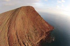 Tenerife El medano montana Roja Royaltyfri Fotografi