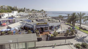TENERIFE, ESPANHA - 7 DE SETEMBRO DE 2016: Vista aérea de Las Americas Fotos de Stock Royalty Free
