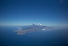 Tenerife fågelperspektiv Royaltyfri Foto
