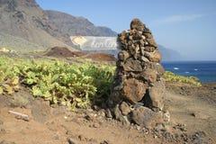 Tenerife Faro DE Teno Stock Foto's