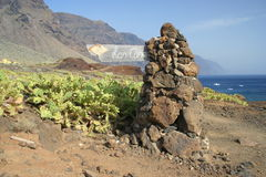 Tenerife Faro de Teno Στοκ Φωτογραφίες