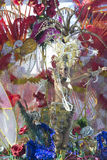 TENERIFE FEBRUARI 3: Stor stor fest av valet för drottningen av carnen Royaltyfria Bilder