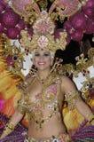 TENERIFE, FEBRUARY 17: The Carnival Royalty Free Stock Photo