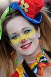 TENERIFE, FEBRUARY 17: Carnival groups and costumed characters Royalty Free Stock Images