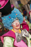 TENERIFE, FEBRUARY 25: Characters and groups in the carnival Stock Image