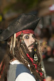 TENERIFE, FEBRUARY 9: Characters and Groups in The Carnival Royalty Free Stock Photography