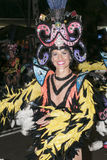 TENERIFE, FEBRUARY 9: Characters and Groups in The Carnival Stock Images