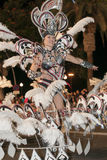 TENERIFE, FEBRUARY 9: Characters and Groups in The Carnival Royalty Free Stock Photos