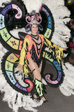 TENERIFE, FEBRUARY 9: Characters and Groups in The Carnival Stock Image