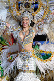 TENERIFE, FEBRUARY 11: Great choice for the Queen of Carnival Royalty Free Stock Image