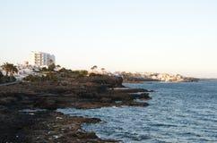 Tenerife golf del sur Royalty-vrije Stock Afbeelding