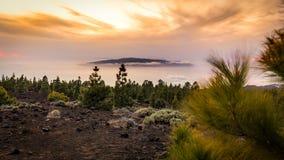 Tenerife-Gomera Fotografia Stock