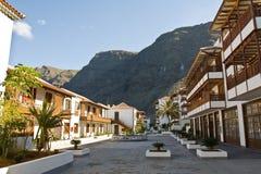 Tenerife Hotel. View of the Poblado Marinero Hotel in Los Gigantes (Spain Royalty Free Stock Photo