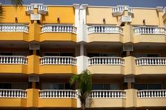 Tenerife hotel fasade Stock Photos