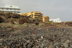 Tenerife hotell Arkivbilder
