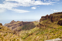 Tenerife island landscape Royalty Free Stock Image
