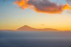 Tenerife island seascape Stock Photo