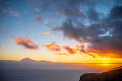 Tenerife island seascape Royalty Free Stock Images