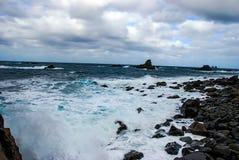 Tenerife, isole Canarie, Spagna, l'Oceano Atlantico Fotografia Stock Libera da Diritti