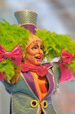 TENERIFE, 23 JANUARI: Karakters en Groepen in Carnaval Royalty-vrije Stock Foto's