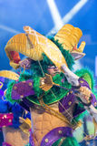 TENERIFE, JANUARY 20: Carnival groups and costumed characters Stock Photos