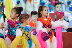 TENERIFE, JANUARY 23: Characters and Groups in The carnival. Stock Image