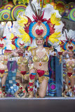 TENERIFE, JANUARY 30: Characters and Groups in The carnival. Stock Images