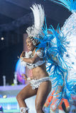 TENERIFE, JANUARY 30: Characters and Groups in The carnival. Stock Photography