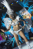 TENERIFE, JANUARY 30: Characters and Groups in The carnival. Royalty Free Stock Images