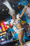 TENERIFE, JANUARY 30: Characters and Groups in The carnival. Royalty Free Stock Photos