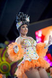 TENERIFE, JANUARY 30: Characters and Groups in The carnival. Stock Image