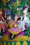TENERIFE, JANUARY 24: Characters and Groups in The carnival Royalty Free Stock Photos