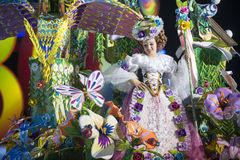 TENERIFE, JANUARY 24: Characters and Groups in The carnival Stock Photography