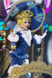 TENERIFE, JANUARY 24: Characters and Groups in The carnival Royalty Free Stock Photo