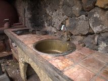 Tenerife, Küche Stockfoto