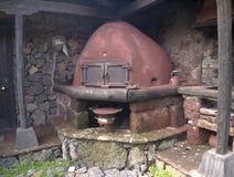Tenerife, kamin Stockbild