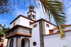 Tenerife landmark. Santa Cruz de Tenerife, Canary Islands, Spain - Concepcion church, old landmark royalty free stock photos