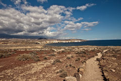 Tenerife landscape Royalty Free Stock Photo