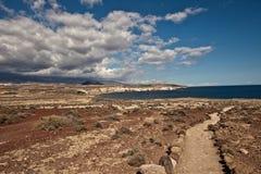 Tenerife-Landschaft Lizenzfreies Stockfoto