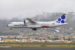 TENERIFE LIPIEC 09: Płaski lądowanie, Lipiec 09, 2017, Tenerife kanarek Obraz Royalty Free